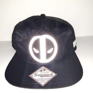 Deadpool snapback hat